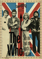 Music Poster A4 Photo Reprint The Who at Stonehenge Rock Bar 1978