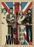 Music Poster A4 Photo Reprint The Who at Stonehenge Rock Bar 1978