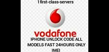 VODAFONE UK UNLOCK  - APPLE IPHONE 7 7+ 6 6+  5 X XS XR 11 PRO 12 MAX PRO  CPW