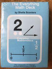 NEW McGraw Hill Wright Group Everything Math Deck Mathematics Cards Homeschool