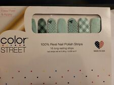 Color Street Luck Of The Stylish ~Retired~ 100% Nail Polish Strips