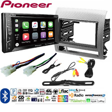 Pioneer AVH-1400NEX Double DIN Apple CarPlay In-Dash w/ Toyota Tacoma Dash Kit