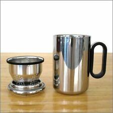 Stainless Tea Infuser Mug, Filter Strainer Basket 12 oz