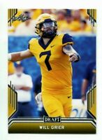 """WILL GRIER 2019 LEAF DRAFT """"1ST EVER PRINTED"""" GOLD PARALLEL ROOKIE CARD!"""