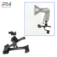 Heavy Duty Spring Ball Head Holder Mount Clip Clamp Hotshoe for Flash Speedlight