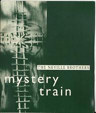 NEVILLE BROTHERS Mystery Train PROMO DJ CD Single Aaron