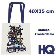 La storia della Arcana Famiglia Anime Borsa Borsetta Tessuto Shopper Bag 40X35