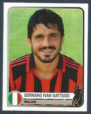 PANINI 1955-2005 CHAMPIONS OF EUROPE- #255-MILAN & ITALY-GENNARO IVAN GATTUSO