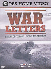 American Experience - War Letters (DVD,2005) Revolutionary War to the Gulf War
