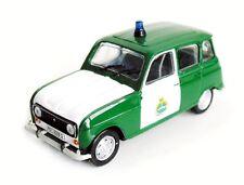 1/43 NOREV  ; RARE RENAULT 4 /  R4   GARDE CIVILE ESPAGNOLE  / POLICE