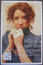 KATHLEEN EDWARDS 2008 Gig POSTER Portland Oregon Concert