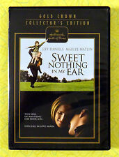 Sweet Nothing In My Ear ~ DVD Movie ~ Jeff Daniels Marlee Matlin ~ Rare Hallmark