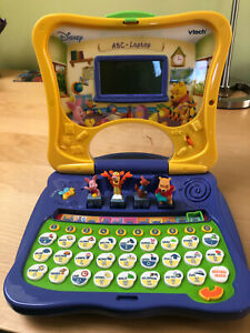 VTECH Disney Winnie The Pooh ABC laptop computer in German language