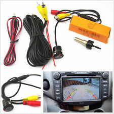 Mini CCD 18.5mm Car Reverse Backup Parking Auxiliary Aid Night Vision Camera Kit