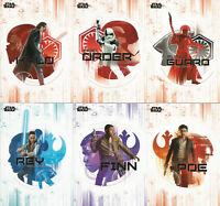 Star Wars Last Jedi Series 1 ~ MINI-MASTER SET (Base + 5 Insert Sets) 141 cards