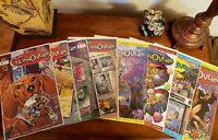 THE CROSSOVERS Comic Book CrossGen Lot of 9: 1 2 3 4 5 6 7 8 9 NM