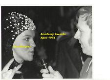 ANN MARGRET IN BATMAN HOOD AT OSCARS APRIL 74 VINTAGE 8x10 UNSEEN PRESS PHOTO 1a