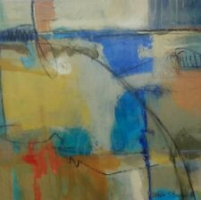 """Abstract Original Oil on Canvas Contemporary Painting """"Movement II"""" by BRENNER"""