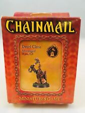 Chainmail Miniatures Games Dwarf Cleric