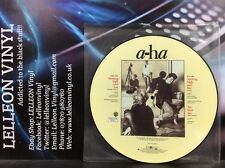 """A-HA Hunting High And Low Ltd Ed. 12"""" Single Vinyl Picture Disc 920438-0 80's"""