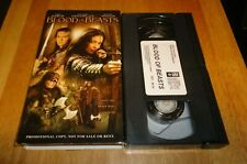 Blood of Beasts (VHS,2005) Jane March Adventure Ultra Rare Promotional Demo Copy