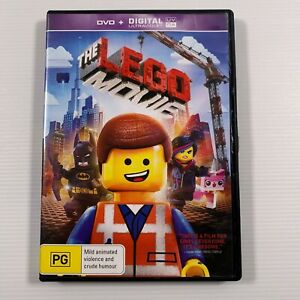 The Lego Movie (DVD, 2014) Chris Pratt Will Ferrell Region 4