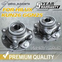 2 x Front Wheel Bearing Hub Assembly for Toyota Hilux GGN25R KUN26R 05-15 LH+RH