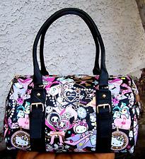 Hello Kitty x Tokidoki Black Diamond PVC Handbag NWOT rare