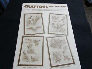 Vintage Leather Craftool Pattern Pak No. 6002 By Al Stohlman