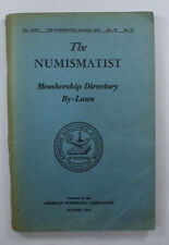 The Numismatist For Collectors Of Coins Paper money October 1954