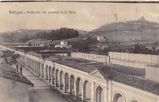 3784) BOLOGNA PORTICATO CHE CONDUCE A S. LUCA. VIAGGIATA NEL 1915.