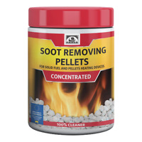 HANSA Wood Pellet Stove Cleaner Chimney Creosote/Soot Remover, 1 kg