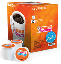 Dunkin Donuts Keurig K-Cups, French Vanilla Coffee, 96 Count Expired 02/05/2018