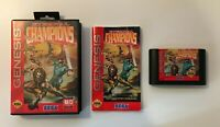 Eternal Champions ( SEGA Genesis, 1993) SEGA - CIB COMPLETE - BOX, GAME & MANUAL
