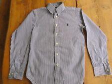 RALPH LAUREN magnifique chemise a rayures taille 10 ans