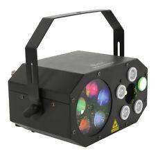 QTX DEL Gobo starwash Laser Effets Lumière Disco Fête de mariage