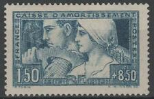 """FRANCE STAMP TIMBRE 252 """" CAISSE AMORTISSEMENT  LE TRAVAIL1928"""" NEUF xx SUP N453"""