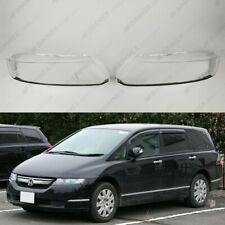 Honda Odyssey (03-08) OEM Headlight Glass Headlamp Lens Plastic Cover (PAIR)