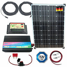 100W Mono Solar Kit + INVERTER, Panel ,Controller, Cables, German Solar Cells