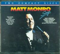 Matt Monro - Sings Emi Music For Pleasure Emi 2X Cd Ottimo