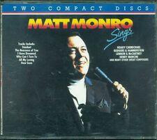 Matt Monro - Sings Emi Music For Pleasure Emi 2X Cd Ottimo