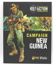 Bolt Action WWII Campaign New Guinea Supplement Book + Mini Warlord Games Osprey