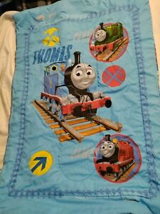 Thomas The Train Top and Under Blanket Gently Used Kids Bedroom