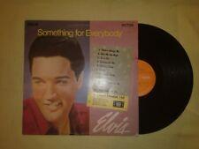 ELVIS PRESLEY SOMETHING FOR EVERYBODY LP (EX) 1971 (ORANGE LABEL SF 5106)