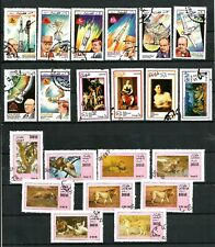 DHUFAR THEMATIC STAMPS -SPACE & WILD ANIMALS -