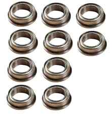 10PCS 8*12*3.5MM MF128zz Ball Bearings Double Shielded Flanged 8  X 12 X 3.5