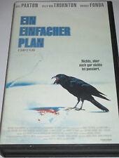 Ein einfacher Plan - VHS/Thriller/Bill Paxton/Bridget Fonda/Concorde