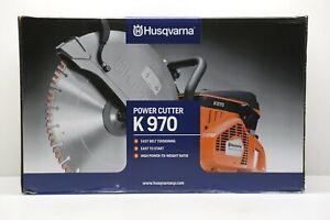 "Husqvarna K970 Power Cutter Gas Powered 16"" Concrete Cut-Off Saw - BRAND NEW"