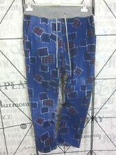 BAGGY JOGPANT JOGGING FREIZEIT HOSE SWEAT PANTS Used Look 42 44 46 Blau HG43