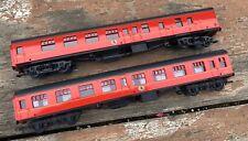 Bachmann Harry Potter Hogwarts Express HO scale Train Passenger Cars 99718 99723